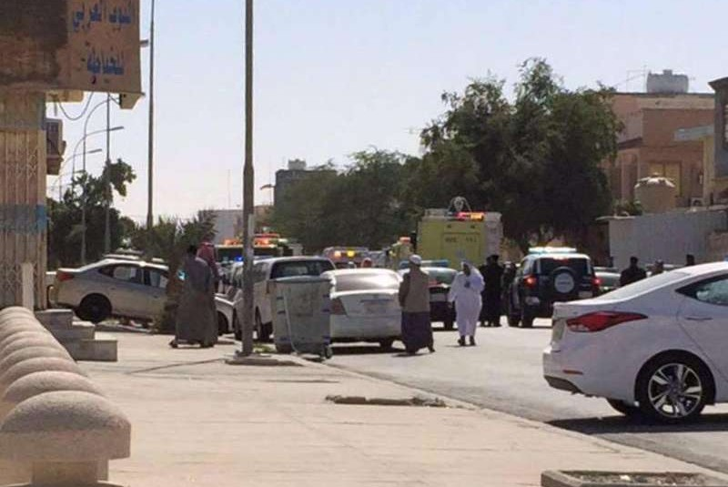 بالفيديو و الصور .. إستشهاد 4 وإصابة 18 في إنفجار وإطلاق نار على مسجد في #الأحساء