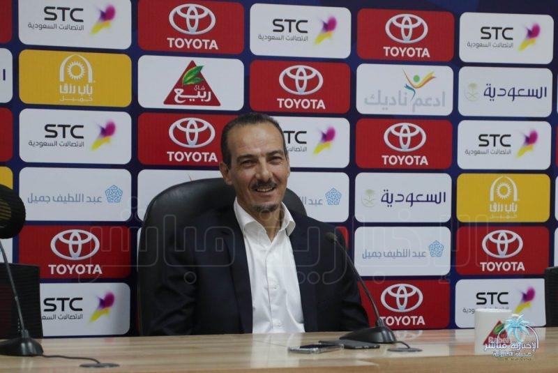#فتحي_الجبال : واجهنا فريق يدافع فقط .. وخسرنا نقطتين مهمة