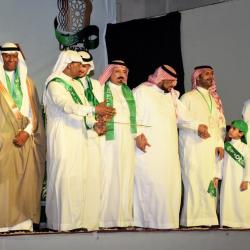 """الشاعر الاماراتي """"الخوار"""" يشارك بذكرى اليوم الوطني السعودي الـ88 بقصيدة بعنوان """"عرضة وحربية """""""