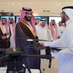 #ولي_العهد السعودي يدشن ويضع حجر أساس 7 مشاريع استراتيجية