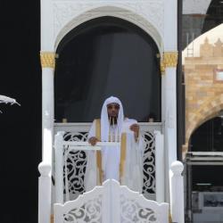 إمام المسجد النبوي يدعو لإعمار شعبان بالقربات