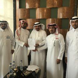 فريق اللجنة الوطنية لمكافحة التبغ بالأحساء يواصل زيارة المنشآت الحكومية