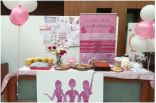 """كلية الآداب للبنات بجامعة الملك فيصل تقيم حملة توعوية للوقاية من """" سرطان الثدي """""""