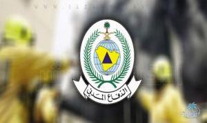 الدفاع المدني : إصابة مدنيين اثنين بإصابات طفيفة إثر تناثر شظايا صاروخ باليستي