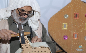 """#نادي_الطلبة_السعوديين في #الأردن يقيم معرض """" #الأحساء تراثنا """""""