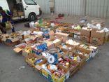 بلدية الظهران تصادر مواد غذائية منتهية الصلاحية مجهزه للتوزيع