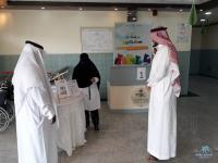 ركن صحي بعنوان تسمم الدم في مستشفى مدينة العيون