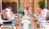ولي ولي العهد يرأس الاجتماع الأول لمجلس الشؤون السياسية والأمنية