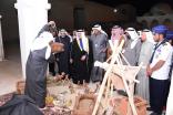 بالصور .. وكيل محافظة الاحساء يفتتح ملتقى الشباب والثقافة الشعبية