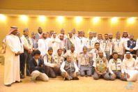 تدشين الوحدة الكشفية وعشيرة الجوالة في لجنة التنمية الاجتماعية بالظبية