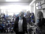 التشكيلية ريهام السنباطى تطلق مبادرة الصورة الزرقاء لدعم مرض التوحد