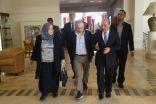 خلال لقائه بالسفير الإيطالي ..وزير الأشغال الفليسطيني يحذر من إنفجار الوضع بغزة