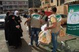 الحملة الوطنية السعودية وفرت مادة الخبر لأكثر من 120 الف اسرة سورية في لبنان