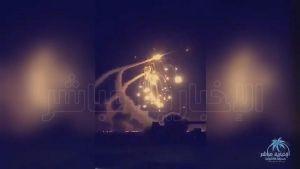 """""""قوات التحالف"""" تعترض وتدمر صاروخين أطلقتها الميليشيا الحوثية باتجاه الرياض"""
