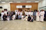 مدير #تعليم_الأحساء يشارك بفعاليات الموهبة بجامعة الملك فيصل
