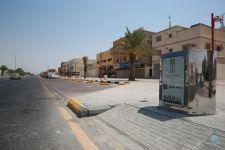 #أمانة_الاحساء : تركيب 115 ( حاوية مخفية ) بمشروع تحسين المشهد الحضري