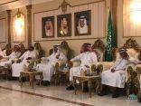 """رجل الاعمال """"صبيح بن علي المري """" يقيم مؤدبة عشاء لضيوف المجلس البلدي بالاحساء"""
