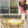 طالبات المتوسط ١٤ بالمبرز ينفذن زيارة لمعهد الأمل بالهفوف