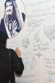"""جدارية """" شكر الملك سلمان """" … أكثر من 300  إعلامي يعبرون عن شكرهم لخادم الحرمين"""