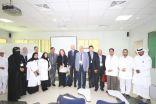 مستشفى الصحة النفسية بالأحساء يستقبل وفد جامعة الفيصل