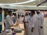 بالصور .. اختتام فعاليات معرض الانسداد الرئوي بمستفى الملك فهد