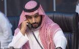 """""""محمد بن سلمان"""" يتدخل .. و نقل مباراة #السعودية وفلسطين لأرض محايدة"""