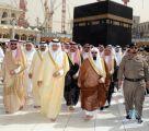 """أمير #مكة_المكرمة يطلق حملة """"الحج عبادة وسلوك حضاري"""" غداً"""