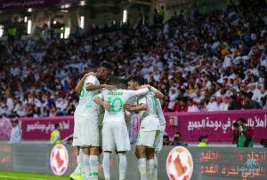 بهدف وحيد … الاخضر يصل للنهائي الخليجي لمواجهة البحرين