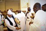 وصول ألف حاج من ضيوف #خادم_الحرمين_الشريفين إلى #مكة_المكرّمة