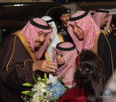 خادم الحرمين الشريفين يُشرّف حفل استقبال أهالي منطقة تبوك