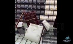 #وزارة_التجارة : ضبط أكثر من 3 الاف قطعة مجهولة المصدر بمنشأة لبيع المجوهرات بالرياض