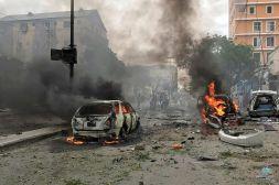 مكالمة تفضح تورط #قطر في هجمات إرهابية بالصومال