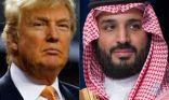 """""""ترامب"""" في اتصال هاتفي مع """"ولي العهد"""": أمريكا مستعدة في كل ما يدعم أمن #السعودية واستقرارها"""