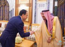 خادم الحرمين يستقبل وزير خارجية قبرص