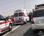 وفاة معلمة وإصابة أخرى في حادث انقلاب مركبة بـ #النعيرية