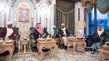 #خادم_الحرمين_الشريفين يستقبل الرئيس السوداني ووزير خارجية #الإمارات