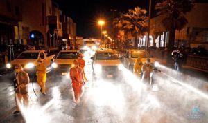 #بلدية_القطيف تنتهي من تعقيم وتطهير ٩٣% من بلدات وقرى المحافظة