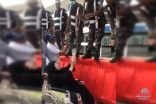 بالفيديو:  مُسنّة تفرح على طريقتها بأداء فريضة الحج
