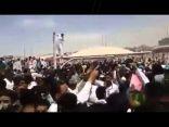 """بالفيديو .. يمنيون يهتفون """"بالروح بالدم نفديك يا سلمان"""""""