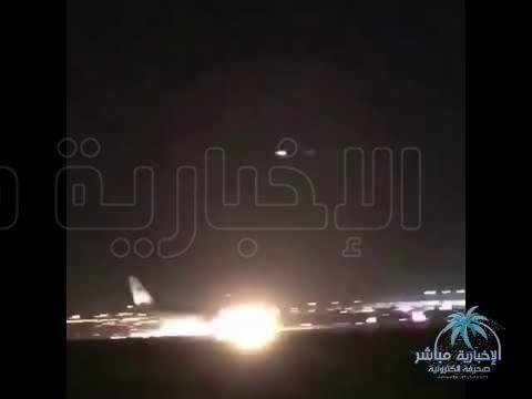 عطل في عجلات طائرة يتسبب في هبوطها اضطرارياً في مطار المؤسس