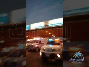 في الأحساء : بالفيديو .. إصطدام مركبة بقطار للبضائع والحصيلة 3 إصابات بينهم خطيرة