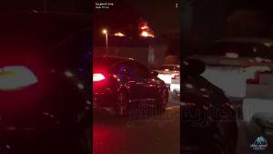 حريق بمجمع إكسترا التجاري بشارع التحلية في جدة