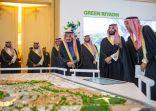 #خادم_الحرمين_الشريفين يطلق 4 مشروعات نوعية كبرى بـ 86 مليار ريال في مدينة #الرياض
