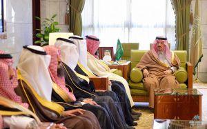 أمير #الرياض يستقبل اعضاء المجلس البلدي