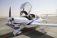 """وصول طائرات أكاديمية """"اكسفورد"""" السعودية لمطار #الدمام"""
