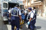 """بالصور .. تفاعلاً مع  """" الإخبارية مباشر """" : إخلاء طبي لعلاج مريضة العيون في مدينة الملك فهد الطبية بالرياض"""