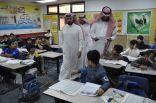 بالصور .. تطبيق برنامج تحسين الأداء التعليمي لطلاب المرحلة الابتدائية في مدرسة مكة