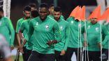 """""""الأخضر"""" يجري تدريبه الأول بعد وصوله إلى دبي بمشاركة """"الفرج"""" و """"عمر هوساوي"""""""