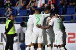 """بثنائية دون رد ضد لبنان … """"الاخضر"""" الى دور الـ 16 من كأس اسيا"""