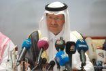 وزير الطاقة يعلن عودة إمدادات النفط إلى ما كانت عليه قبل استهداف أرامكو الإرهابي